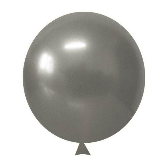 Balão Alumínio nº 9 (25cm) Prata - 25 Un
