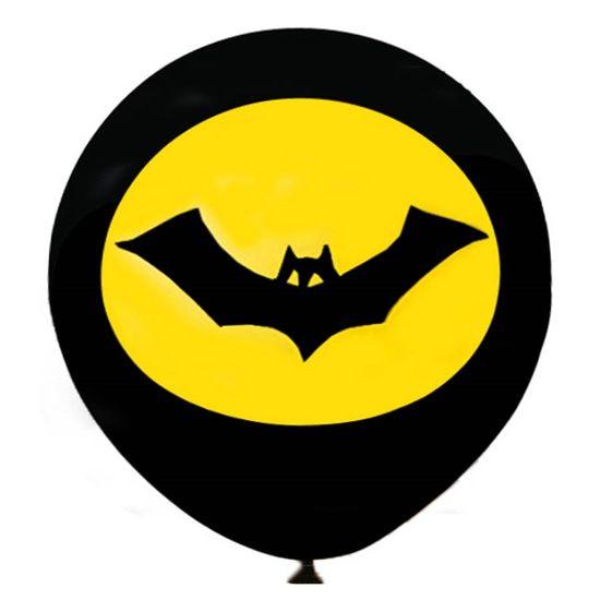 Balão Morcego Preto nº 11 (28cm) - 25 Un