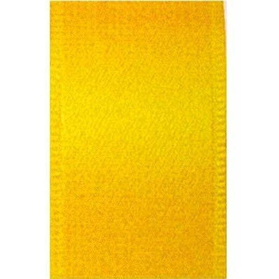 Fita de Cetim nº 01 Amarelo Gema (763) - 10 metros
