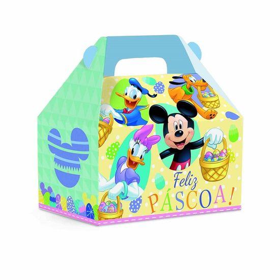Disney - Caixa Maleta Kids Páscoa P (9x6x9cm) 10 Un
