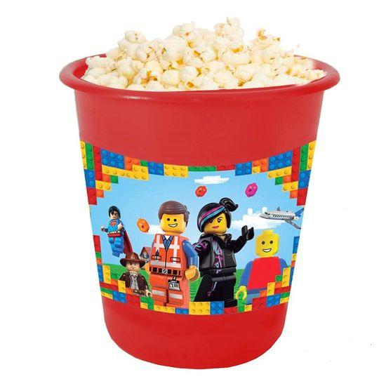 Festa Lego - Adesivo para Balde de Pipoca 12x8cm Lego - 03 Un