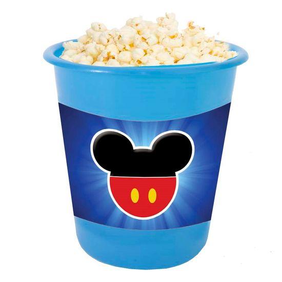 Festa Mickey Mouse - Adesivo para Balde de Pipoca 12x8cm Mickey Mouse - 03 Un