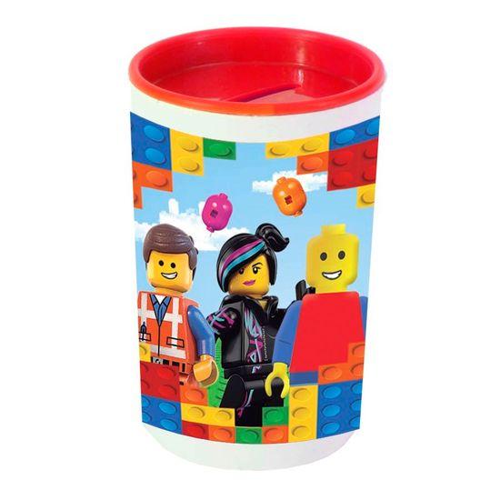 Festa Lego - Cofrinho Porta-moedas com Adesivo Lego