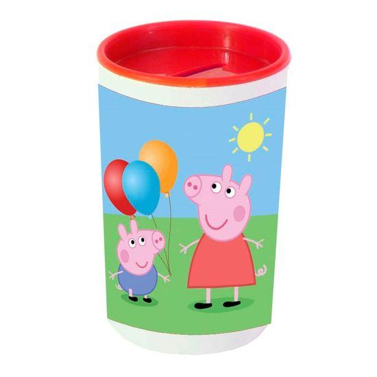 Festa Peppa Pig - Cofrinho Porta-moedas com Adesivo Peppa Pig