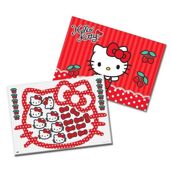 Festa Hello Kitty - Kit Decorativo Cartonado Hello Kitty Poá