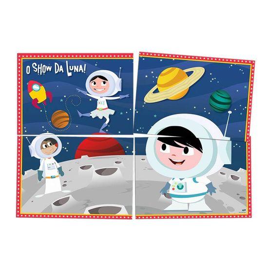 Festa Astronauta - Painel Gigante Cartonado Astronauta Show da Luna
