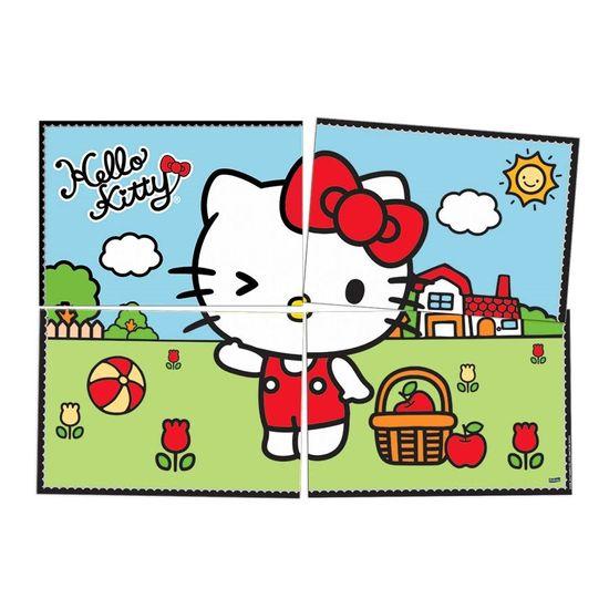 Festa Hello Kitty - Painel Gigante Cartonado Hello Kitty Poá