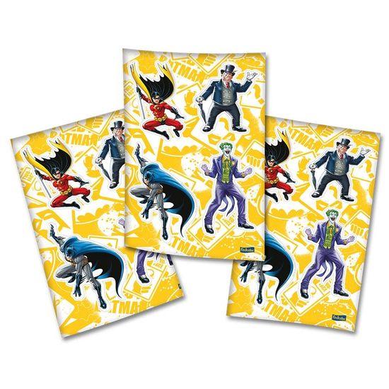 Festa Batman - Adesivo Sortido Batman Clássico - 04 cartelas