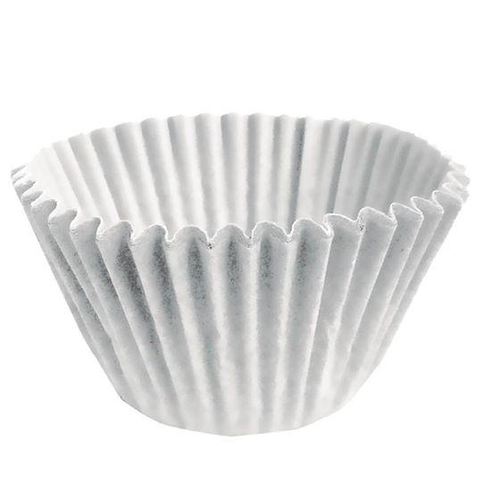 Forminha para Doces nº 0 Liso Branco - 100 Un