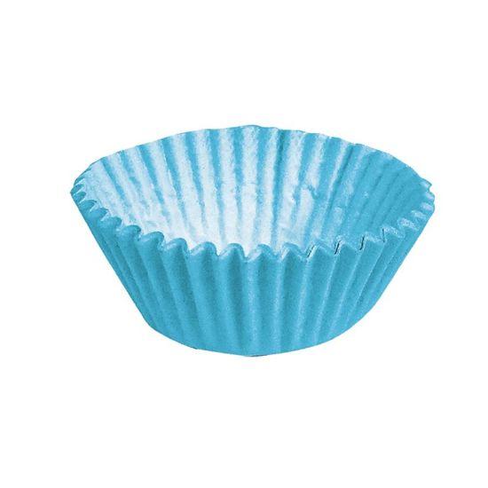 Forminha para Doces nº 1 Liso Azul - 100 Un