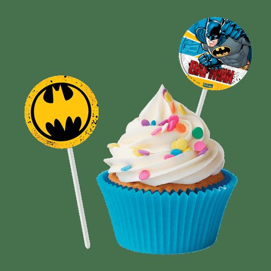 Festa Batman - Pick para Docinhos Batman Clássico - 08 Un