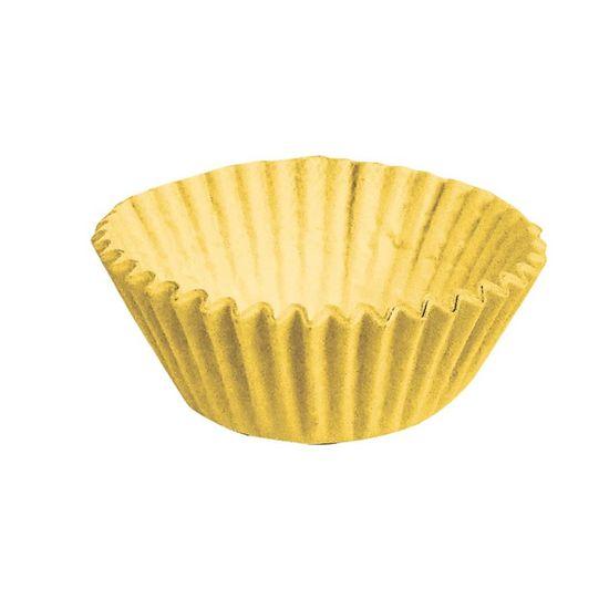 Forminha para Doces nº 1 Liso Amarelo - 100 Un