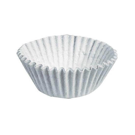 Forminha para Doces nº 1 Liso Branco - 100 Un