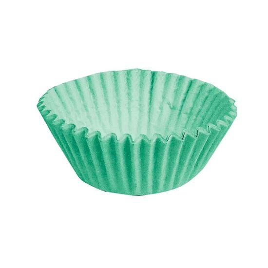 Forminha para Doces nº 1 Liso Verde - 100 Un