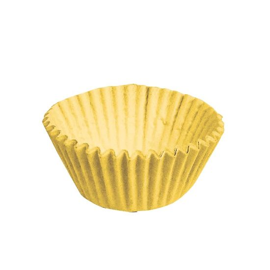 Forminha para Doces nº 2 Liso Amarelo - 100 Un