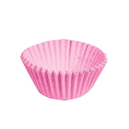 Forminha para Doces nº 2 Liso Rosa - 100 Un