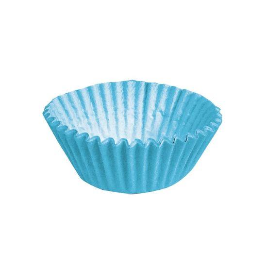 Forminha para Doces nº 3 Liso Azul - 100 Un