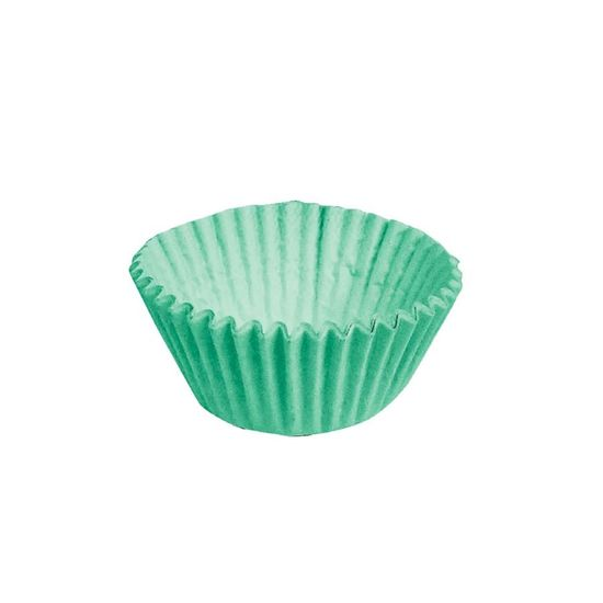 Forminha para Doces nº 4 Liso Verde - 100 Un