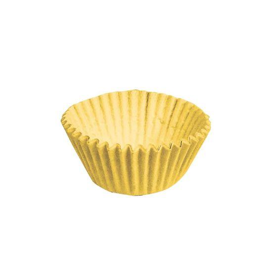 Forminha para Doces nº 4 Liso Amarelo - 100 Un