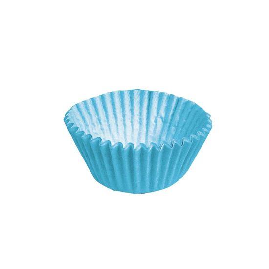 Forminha para Doces nº 4 Liso Azul - 100 Un