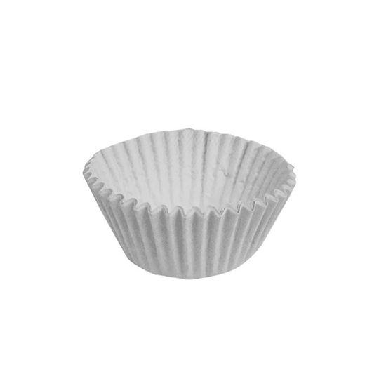 Forminha para Doces nº 4 Liso Branco - 100 Un