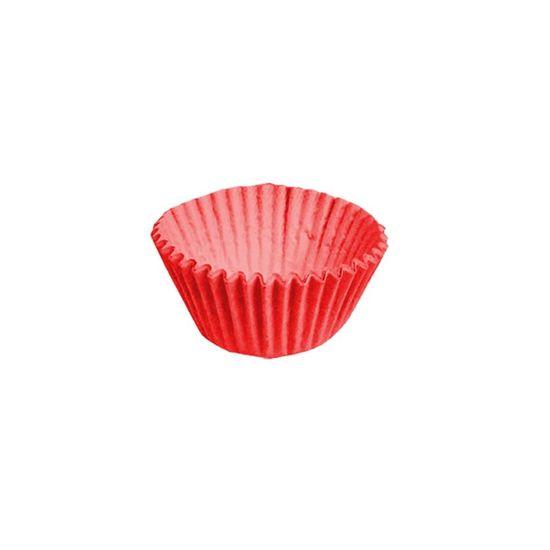 Forminha para Doces nº 5 Liso Vermelho - 100 Un