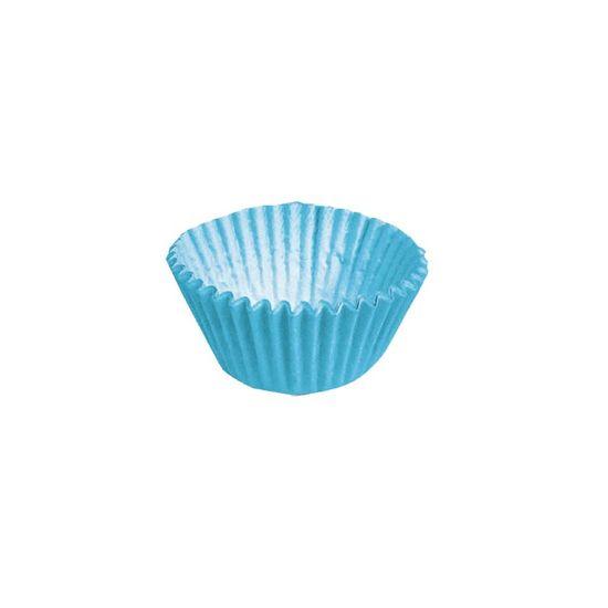 Forminha para Doces nº 5 Liso Azul - 100 Un