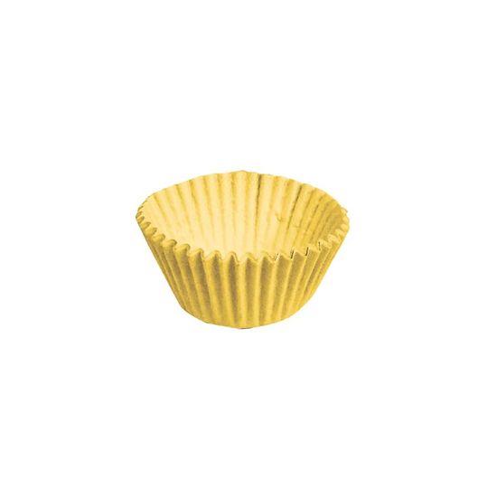 Forminha para Doces nº 5 Liso Amarelo - 100 Un