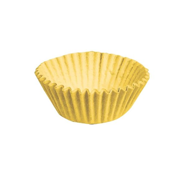 Forminha para Doces nº 3 Liso Amarelo - 100 Un