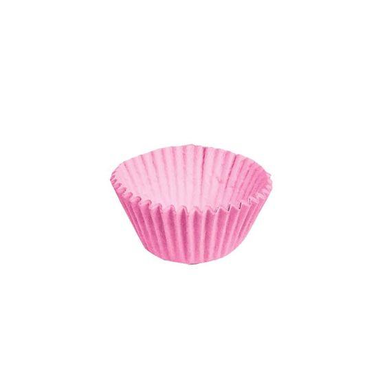 Forminha para Doces nº 5 Liso Rosa - 100 Un