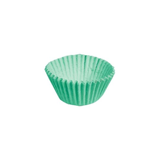 Forminha para Doces nº 5 Liso Verde - 100 Un