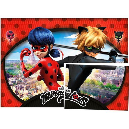 Festa Miraculous LadyBug - Painel Gigante Cartonado Miraculous Ladybug