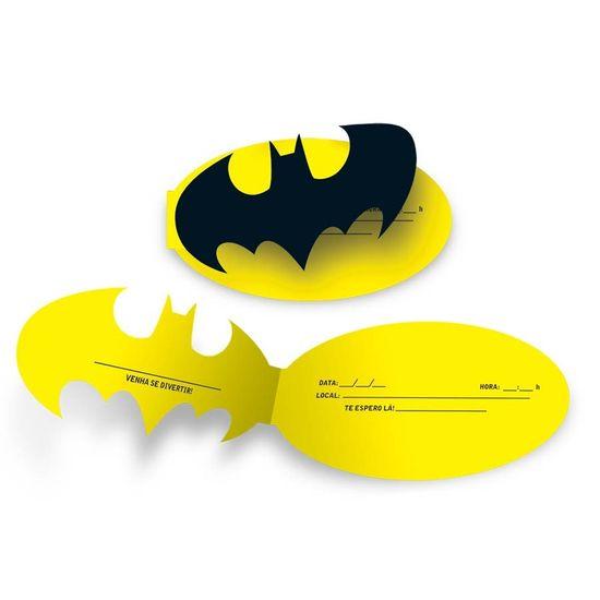 Festa Batman - Convite de Aniversário Batman Geek - 08 Un