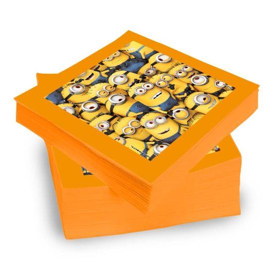 Festa Minions - Guardanapos de Papel Seda Minions - 20 Un