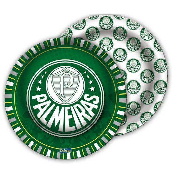 Festa Festa Palmeiras - Prato Redondo 18cm Palmeiras - 08 Un