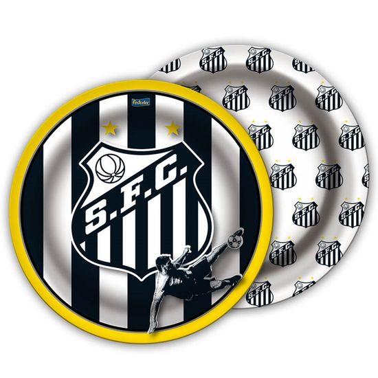 Festa Festa Santos FC - Prato Redondo 18cm Santos F.C. - 08 Un