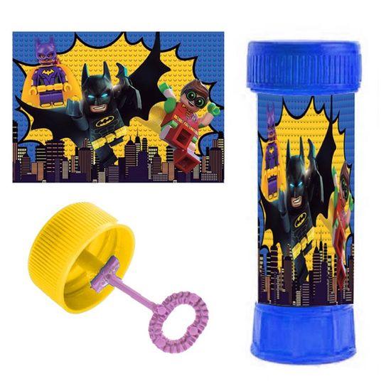 Festa Lego Batman - Adesivo Especial para Bolinha de Sabão Lego Batman - 06 Un