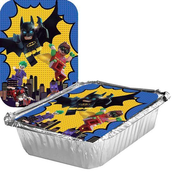 Festa Lego Batman - Adesivo para Marmita Grande 500ml Lego Batman - 05 Un