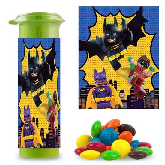 Festa Lego Batman - Adesivo Especial para M&Ms Lego Batman - 06 Un