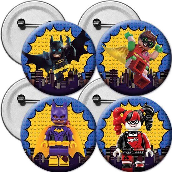 Festa Lego Batman - Broche Especial Lego Batman - 04 Un