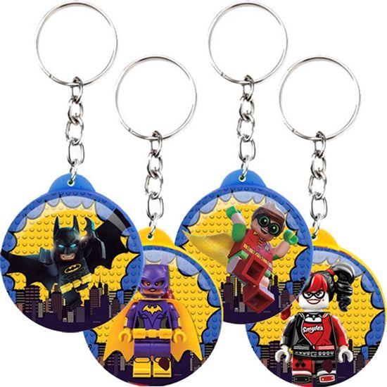 Festa Lego Batman - Chaveiro Plástico Especial Lego Batman - 04 Un