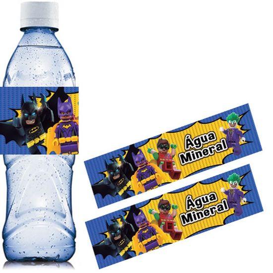 Festa Lego Batman - Adesivo Especial Água Mineral Lego Batman - 06 Un
