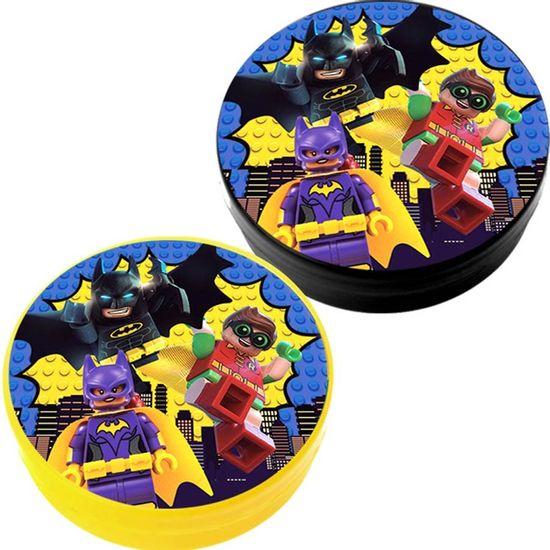 Festa Lego Batman - Latinha Plástica 5x1 Lembrancinha Lego Batman