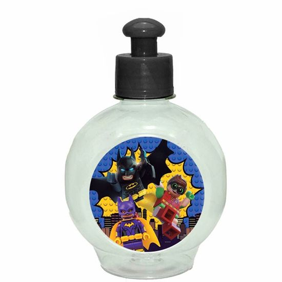 Festa Lego Batman - Mini Cantil Squeeze Especial 250ml - Lego Batman