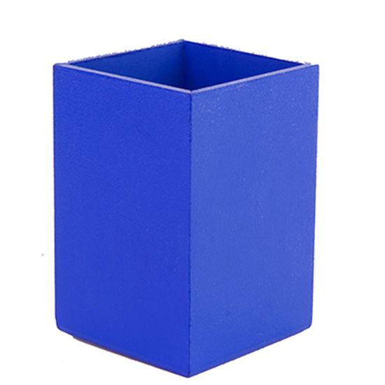 Lembrancinha - Caixa Porta-treco em MDF Liso Azul Escuro