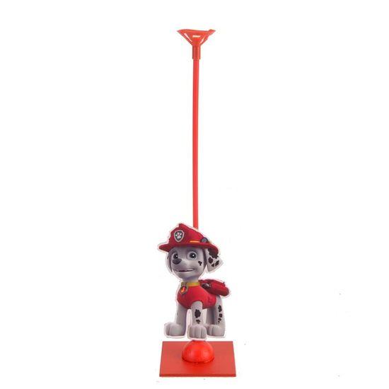 Festa Patrulha Canina - Enfeite de Mesa Porta Balão Patrulha Canina - Cãozinho Vermelho