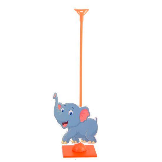 Enfeite de Mesa Porta Balão Zoológico - Elefante