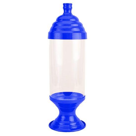 Pote de Acrílico Médio Azul Cobalto
