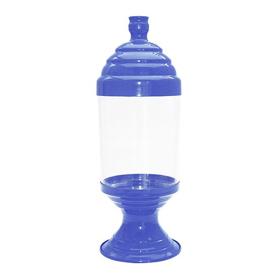 Pote de Acrílico Pequeno Azul Cobalto