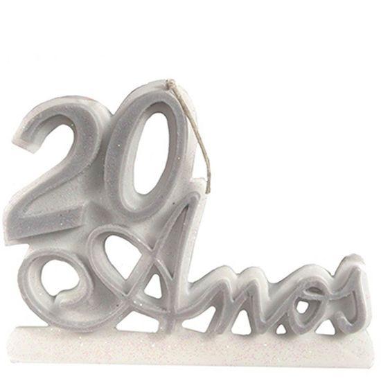 Vela 20 Anos Prata